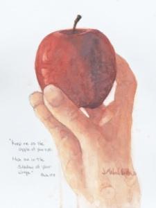 Hand w-apple